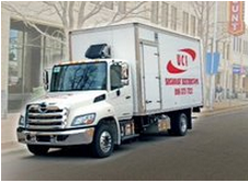 UCI Document Destruction Truck