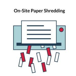 on site paper shredding