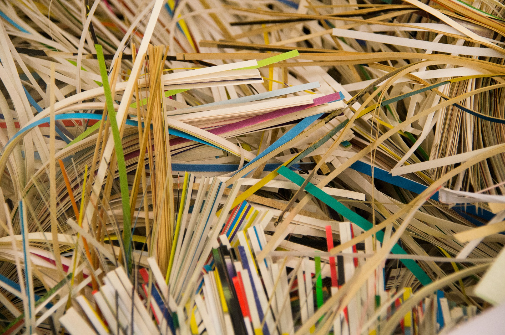 shredding and recycling business documents with UCI Document Destruction